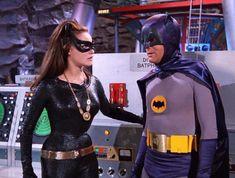 Catwoman and Batman in the Batcave Batman 1966, Im Batman, Batman Robin, Superman, Batman Stuff, Batwoman, Batgirl, Supergirl, Batman Show