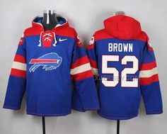 http://www.xjersey.com/nike-bills-52-preston-brown-blue-hooded-jersey.html Only$53.00 #NIKE BILLS 52 PRESTON BROWN BLUE HOODED JERSEY Free Shipping!