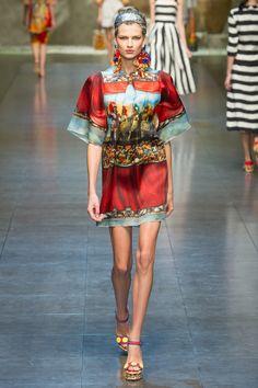Dolce & Gabanna @ Milan Fashion Week