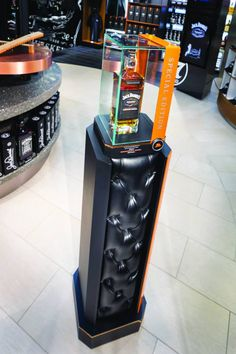 Retail Point of Purchase Design | POP Design | Alcohol & Soft Drinks POP | COME FLY WITH ME - JACK DANIEL'S DUTY FREE STORE