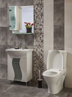 While getting a bathroom expansion is a great solution, there are also simpler design changes that you can do today to make the best of a small space. Try these simple design ideas to start enjoying your small bathroom. Bathroom Accent Wall, Bathroom Accents, Downstairs Bathroom, Accent Walls, Residential Plumbing, Small Bathroom Layout, Purple Bathrooms, Bathroom Paint Colors, Beautiful Bathrooms