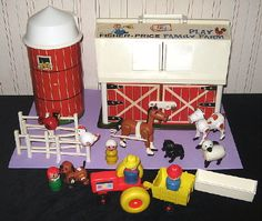 OMG, I loved this as a kid.  I still have it, makes me want to pull it out of storage and see if the doors still moo.