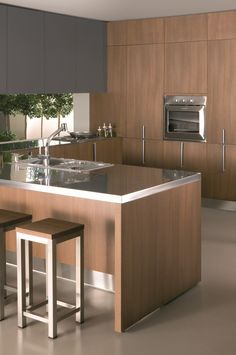 Modern Cabinets, Kitchen and Bathroom European Cabinets in Houston Stainless Steel Countertops, Stainless Kitchen, Kitchen Countertops, Kitchen Room Design, Kitchen Cabinet Design, Kitchen Interior, Kitchen Cabinets In Bathroom, Kitchen Reno, Kitchen Remodel