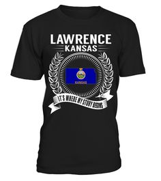 Lawrence, Kansas - My Story Begins