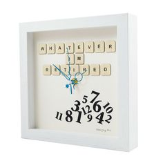 Handmade Unique Clocks direct from Cork, Ireland. Bespoke fun clocks handmade to order, great for gifts and occasions. Handmade Clocks, Unique Clocks, Personalized Clocks, Retirement, Joy, Gifts, Buttons, People, Presents