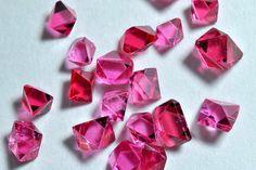 Spinel pink octahedral crystals from Mogok, Burma