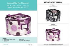 Around we go Thermal, thirty one gifts fall 2014 Join my FB. group. https://www.facebook.com/groups/221123648035423/