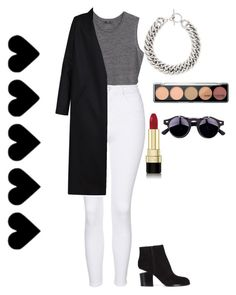 """Classic"" by maritkrijt ❤ liked on Polyvore featuring MANGO, Topshop, Non, Alexander Wang, Yves Saint Laurent and Dolce&Gabbana"