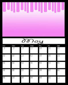 May Printable Calendars 2013