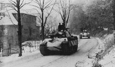 Panther ausf. G tanks from 10th SS Panzer Division Frundsberg near Alsace, France December 1944