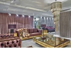 Luxury Interior Design, Ultra High End Furniture, Mirrors, Lighting & Decor. Hollywood Courtesy of In Style Decor, Beverly Hills