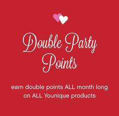 Wow excellent time to host a party or even join the team contact me now to find out more information https://www.youniqueproducts.com/CarolHughes/party/1266856/view