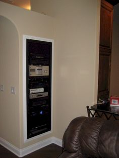 Home Audio / Video / Automation Equipment Rack