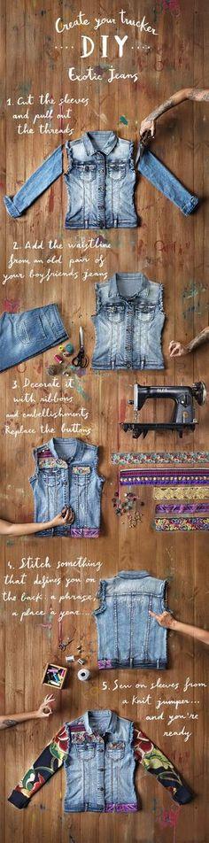 """Normal y """"Corriente""""... El blog para mujeres con Chispa*: Chaqueta exotic jeans"""