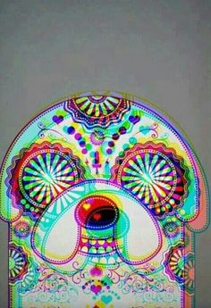 Adventure Time. Psychedelic Jake