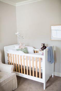 Baby Jamie – Baby Belle - Beautiful Baby Interior Nursery - Entree Rocker Feeding Chair - Hudson Cot