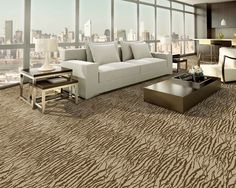 contemporary design wall to wall carpet