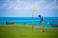 Sea Cliff Resort and Spa Zanzibar currently has the only golf course on the island of Zanzibar. Sea Cliff, West Coast, Golf Courses, Spa, Island, Adventure, World, Image, Block Island