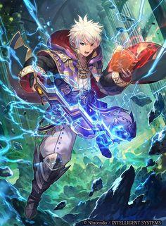Ilustraciones completas - Robin / Daraen - Artworks e imágenes - Galería Fire Emblem Wars Of Dragons