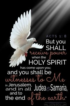 bible verses on receiving the holy spirit Scripture Pictures, Bible Verses Quotes, Bible Scriptures, Easter Scriptures, Acts 1 8, Favorite Bible Verses, Holy Ghost, Jesus Is Lord, Spiritual Inspiration