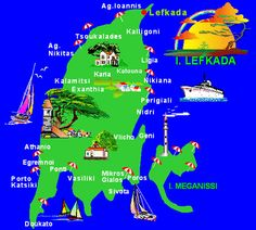 The (UN)official Travel Guide of Lefkada (Pinay Flying High) Greece Map, Greece Islands, Greece Travel, Greece With Kids, London Blog, Island Map, Paradise On Earth, Countries Of The World, Us Travel