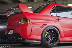 EVO 8 prepared for the swirly streets