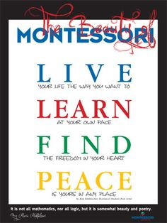 montessori quotes | for montessori schools is ready edelsbacher design group uses quotes ...