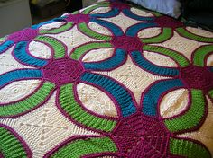"""Ravelry: tabithaic's Crocheted """"Quilt"""" Red Heart (North America) Out of print: this source is out of print Coats & Clark Website"""