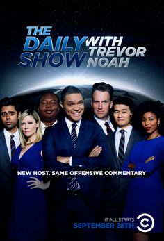 COMEDY CENTRAL: THE DAILY SHOW RELAUNCH on Behance