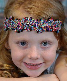 Look what I found on #zulily! Blue Fun & Fanciful Flower Headband #zulilyfinds