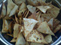Flour tortilla chips from scratch