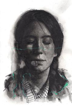 Drawings by Milan-based artist Thomas Cian. More images below.            Thomas Cian on Tumblr Thomas Cian on Behance