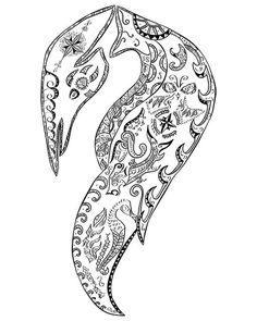 Ouroboros - 'Pinguim Maori' (by cambarockstore).