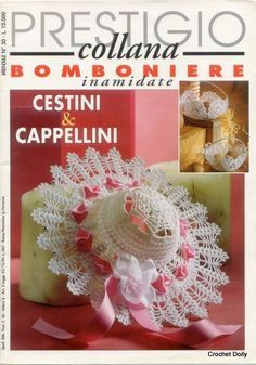 Rivista intera in italiano bomboniere inamidate   Il blog di Vera Maglia&Uncinetto