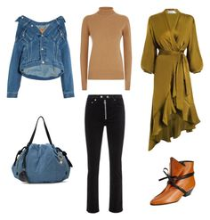 """""""Ss18 street style casual fashion"""" by pavimagestyle on Polyvore featuring мода, See by Chloé, CÉLINE, Zimmermann, rag & bone/JEAN, Balenciaga и Victoria Beckham"""