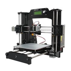 277.20$  Watch now - http://ali8dw.worldwells.pw/go.php?t=32642336012 - Geeetech Newest 3D Printer Reprap Prusa i3-X DIY Kit Acrylic Frame 6 Materials Support LCD Free 277.20$