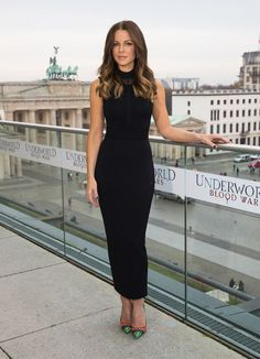 Kate Beckinsale Photos Photos - Actress Kate Beckinsale attends the Berlin to photocall for 'Underworld: Blood Wars' wearing a dress by Elie Saab on the terrace at Akademie der Kuenste on November 22, 2016 in Berlin, Germany. - 'Underworld: Blood Wars' Photocall In Berlin