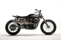 Thor's Hammer: The race-winning Harley-Davidson Street 750 flat tracker built by Thor Drake of See See Motorcycles.