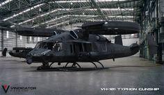 VH-101 Typhon Gunship by VindiCaToR285.deviantart.com on @DeviantArt