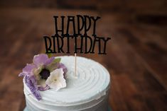 Happy Birthday Cake Topper - Party, Birthday Party, Party Decor, Cake Decor, Photo Prop, Centrepiece, Cake Smash by CutPartySupplies on Etsy Happy Birthday Cake Topper, Party Party, Cake Smash, Party Supplies, Cake Decorating, Paper, Handmade Gifts, Desserts, Etsy