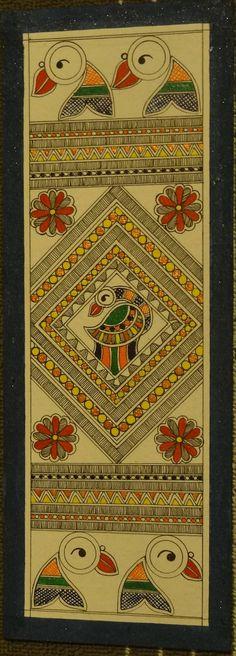 Madhubani Painting Bird