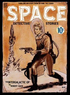 Space Detective Stories by RobertHack on deviantART