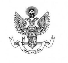 Ordo ab Chao es la principal divisa del grado 33º del R.·. E.·. A.·. y A.·.