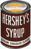 Hershey's Syrup in a can