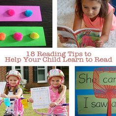 18 Reading Tips to Help Your Child Learn to Read
