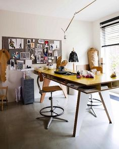 25 Creative Workspace Ideas   Inspiration For Designing A Creative Home  Office, Studio Or Craft Room.