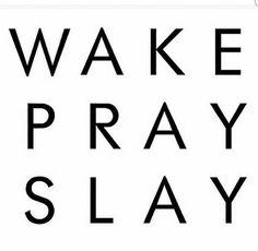 Morning Mantra. Mike drop.