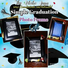 Easy Graduation Photo Frame!- How to do it . Go to my FB page!~~ Anna