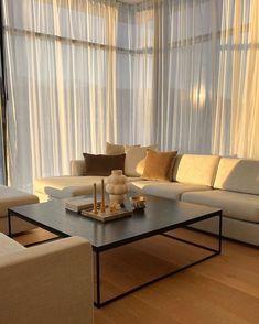 Home Room Design, Dream Home Design, Home Interior Design, Living Room Designs, House Design, Bed Design, Home Living Room, Apartment Living, Living Room Decor