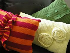 10 DIY ways to transform your #bedroom brassyapple.com feature on #hgtv #pillows